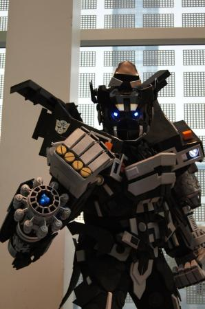 Ironhide from Transformers worn by DK Squall