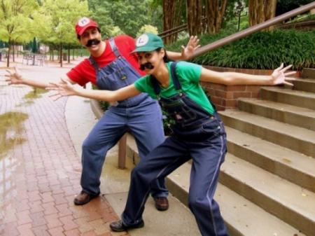 Luigi from Super Mario Brothers Series worn by Livvylove