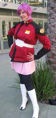 Lunamaria Hawke from Mobile Suit Gundam Seed Destiny