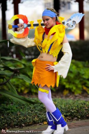 Rikku from Kingdom Hearts 2 worn by JujuKitten