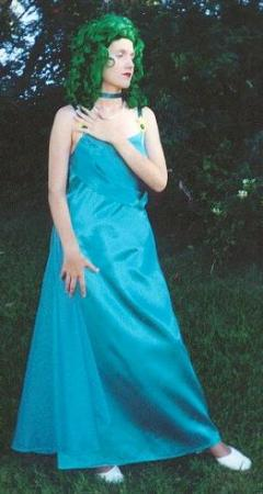 Princess Neptune from Sailor Moon worn by Lady Diamond