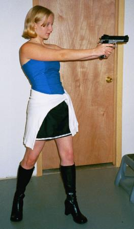 Jill Valentine from Resident Evil 3: Nemesis worn by Kitty-armada