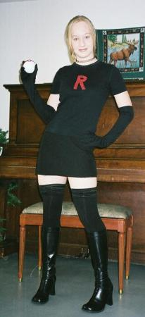 Team Rocket Member from Pokemon worn by Kitty-armada