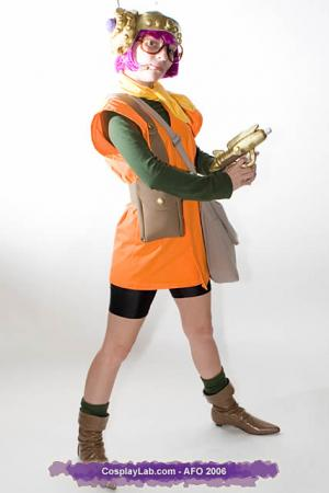Lucca Ashtear from Chrono Trigger worn by NiGHTmaren