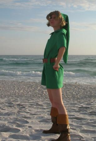 Link from Legend of Zelda: Ocarina of Time worn by NiGHTmaren