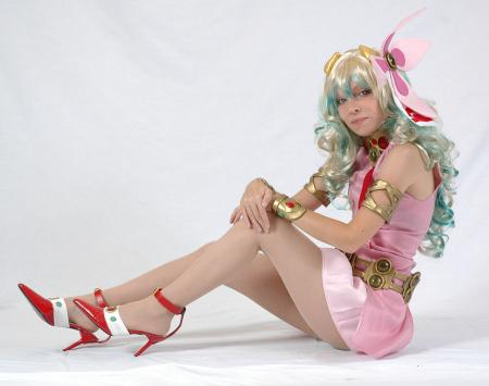 Nia Teppelin from Tengen Toppa Gurren-Lagann worn by Hime no Toki