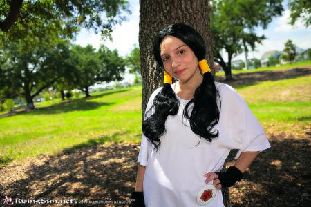 Videl Satan from Dragonball Z worn by Hime no Toki