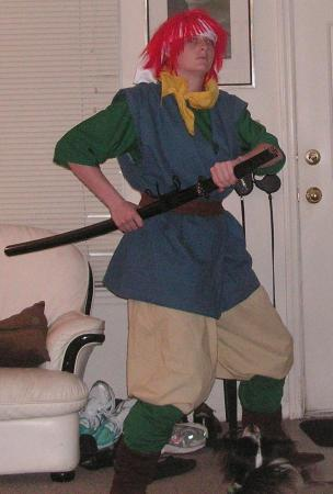Chrono from Chrono Trigger worn by Kitsune