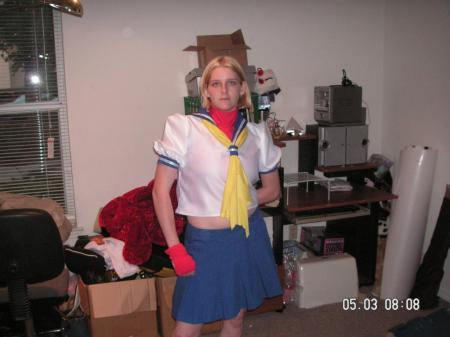 Sakura Kasugano from Street Fighter Alpha worn by Kitsune
