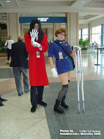 Victoria Seras from Hellsing worn by Kitsune