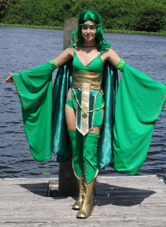 Rydia from Final Fantasy IV worn by Aleera