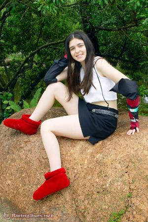 Tifa Lockhart from Final Fantasy VII worn by Aleera
