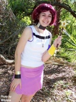 Kairi from Kingdom Hearts worn by Aleera
