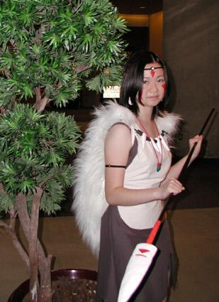 San from Princess Mononoke worn by Heki-chan
