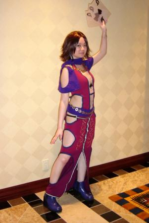 Yuna from Final Fantasy X-2 worn by Heki-chan