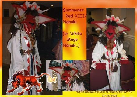 Red XIII from Final Fantasy VII