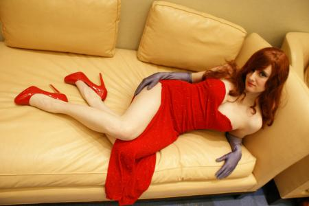 Jessica Rabbit from Who Framed Roger Rabbit? worn by AkaneSaotome