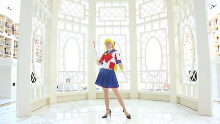 Sailor V from Sailor Moon worn by AkaneSaotome