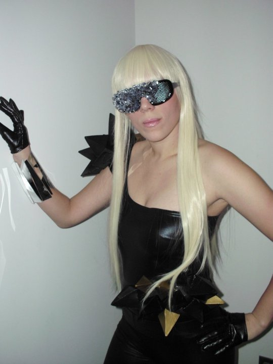 lady gaga poker face outfit