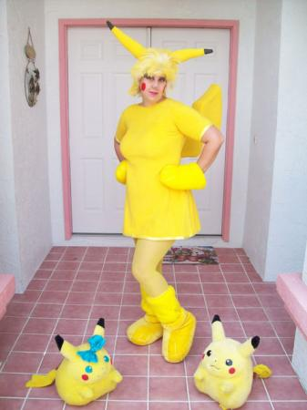 Pikachu from Pokemon worn by PikaBelleChu