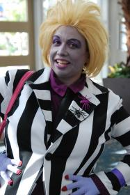 Beetlejuice from Beetlejuice worn by Goblin Girl