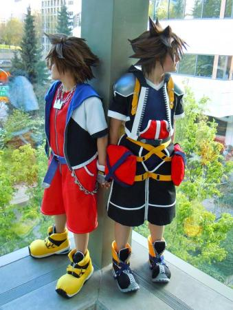 Sora from Kingdom Hearts worn by BAT