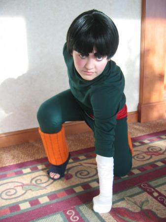 Rock Lee from Naruto worn by BAT