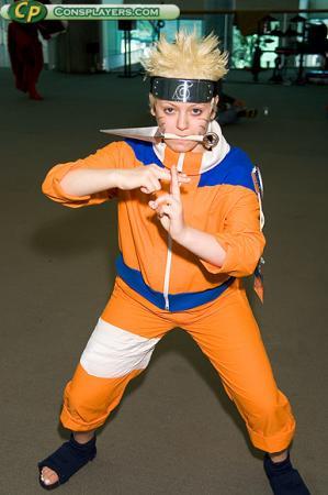 Naruto Uzumaki from Naruto worn by BAT