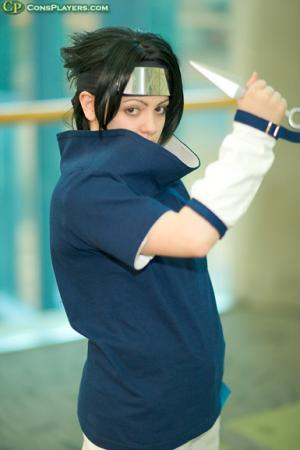 Sasuke Uchiha from Naruto worn by BAT