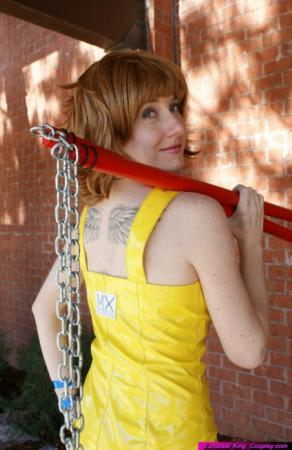 Selphie Tilmitt from Final Fantasy VIII worn by Lilacwire