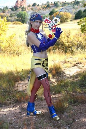 Rikku from Final Fantasy X-2 worn by Lilacwire