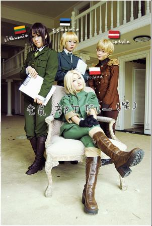 Poland / Felix &#321;ukasiewicz from Axis Powers Hetalia worn by Hikou