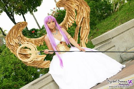 Athena from Saint Seiya worn by Yaya (AngelicStar)