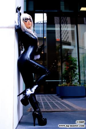 Black Cat from Spider-man worn by Yaya (AngelicStar)