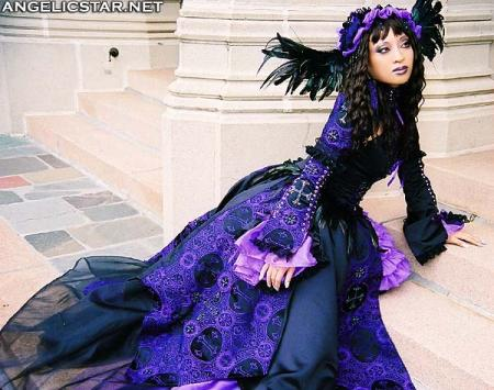 Amethyst Enchantress from Original Design worn by Yaya (AngelicStar)