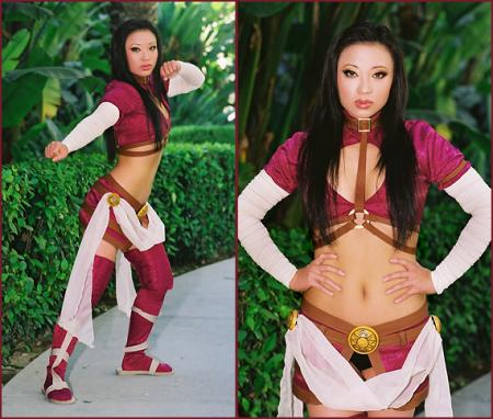 Wu the Lotus Blossom from Jade Empire worn by Yaya (AngelicStar)