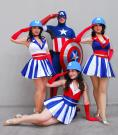 USO Girl from Captain America worn by Yaya (AngelicStar)