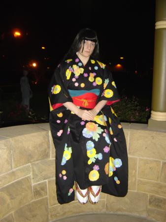 Enma Ai from Jigoku Shoujo worn by Rosie Angel