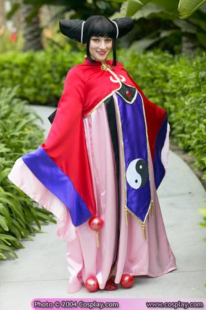 Aska of Fahren from Magic Knight Rayearth worn by Rosie Angel