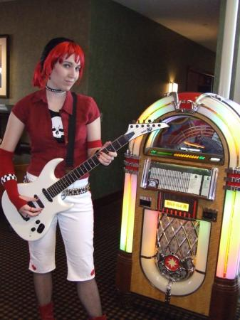 Judy Nails from Guitar Hero II