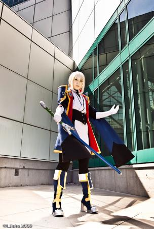 Jin Kisaragi from BlazBlue: Calamity Trigger worn by Die