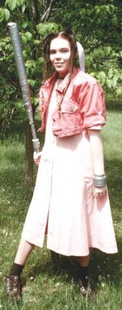 Aeris / Aerith Gainsborough from Final Fantasy VII worn by SpaceCowgirl