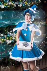 Sailor Mercury from Sailor Moon worn by NyuNyu