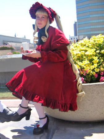 Shinku from Rozen Maiden worn by NyuNyu