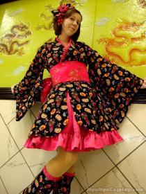 Kanzashi Wa-Lolita from Original: Gothic Lolita / EGL / EGA worn by NyuNyu