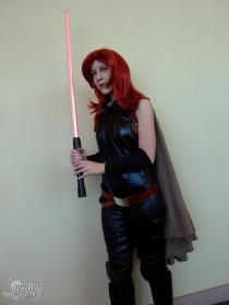 Mara Jade from Star Wars worn by NyuNyu