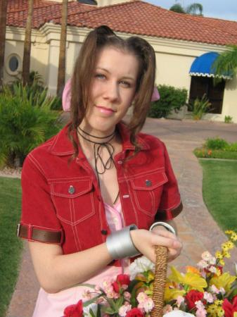 Aeris / Aerith Gainsborough from Final Fantasy VII: Advent Children worn by NyuNyu