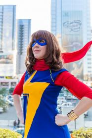 Ms. Marvel from Marvel Comics worn by NyuNyu