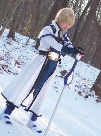 Ky Kiske from Guilty Gear XX