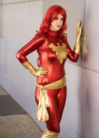 Dark Phoenix from X-Men worn by Illuzions